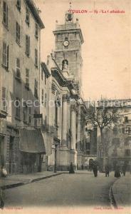 AK / Ansichtskarte Toulon_Var Cathedrale Toulon_Var