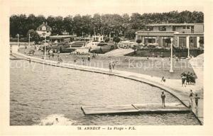 AK / Ansichtskarte Annecy_Haute Savoie La plage Annecy Haute Savoie