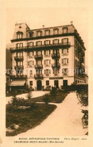 AK / Ansichtskarte Chamonix Hotel Metropole Victoria Chamonix