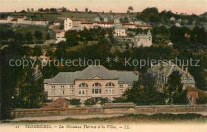AK / Ansichtskarte Plombieres les Bains_Vosges Nouveaux Thermes et les villas Plombieres les Bains