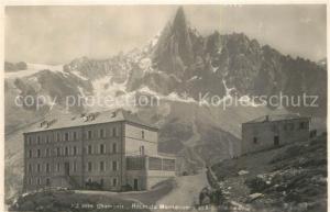 AK / Ansichtskarte Chamonix Hotel du Montenvers Aiguille de Dru Alpes Chamonix