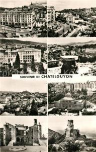 AK / Ansichtskarte Chatelguyon Vue generale Place Brosson Hotels Puy de Dome Etablissement Thermal Chateaux Chatelguyon