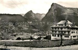 AK / Ansichtskarte Samoens Vue generale Hotel Clairval Alpes Samoens