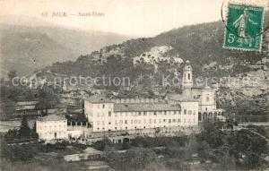 AK / Ansichtskarte Nice_Alpes_Maritimes Saint Pons Nice_Alpes_Maritimes