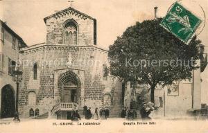 AK / Ansichtskarte Grasse_Alpes_Maritimes La Cathedrale Grasse_Alpes_Maritimes