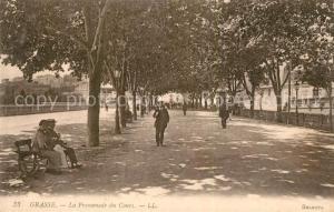 AK / Ansichtskarte Grasse_Alpes_Maritimes Promenade du Cours Grasse_Alpes_Maritimes