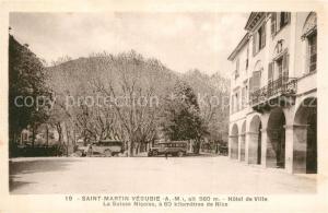 AK / Ansichtskarte Saint Martin Vesubie Hotel de Ville Saint Martin Vesubie