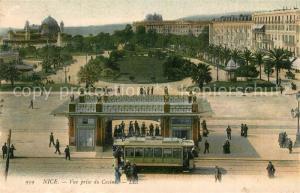 AK / Ansichtskarte Nice_Alpes_Maritimes Casino Strassenbahn Nice_Alpes_Maritimes