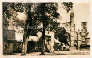 AK / Ansichtskarte Laon_Aisne Eglise Saint Martin Hotel Dieu Laon_Aisne
