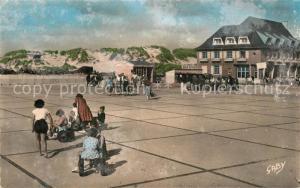 AK / Ansichtskarte Fort Mahon Plage Esplanade Fort Mahon Plage
