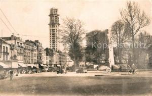 AK / Ansichtskarte Amiens Place Rene Goblet Monument Amiens