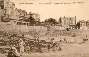 AK / Ansichtskarte Parame Plage de Rochebonne Hotel Bristol Parame