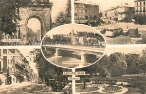 AK / Ansichtskarte Montelimar Porte Saint Martin Boulevard Place d Aygu Parc Lac Pont de la Liberation Montelimar