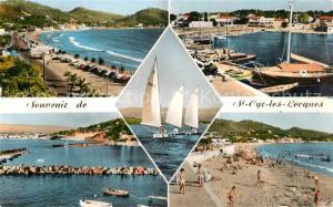 AK / Ansichtskarte Saint Cyr les Lecques Plage Bateaux Voiliers Port Saint Cyr les Lecques