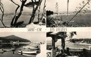 AK / Ansichtskarte Saint Cyr sur Mer Les Lecques Port Panorama Cote d Azur Saint Cyr sur Mer