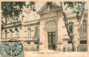 AK / Ansichtskarte Toulon_Var Ecole Rouviere Toulon_Var