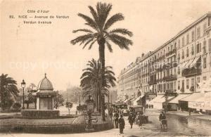 AK / Ansichtskarte Nice_Alpes_Maritimes Avenue de Verdun Nice_Alpes_Maritimes