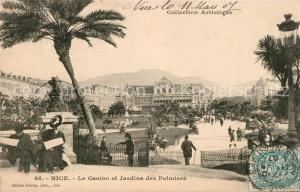 AK / Ansichtskarte Nice_Alpes_Maritimes Casino et Jardins des Palmiers Nice_Alpes_Maritimes