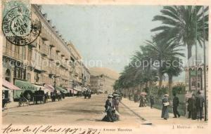 AK / Ansichtskarte Nice_Alpes_Maritimes Avenue Massena Nice_Alpes_Maritimes
