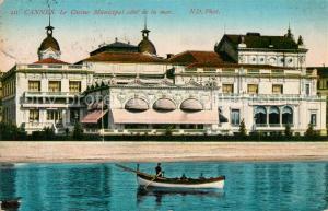 AK / Ansichtskarte Cannes_Alpes Maritimes Casino Municipal Cannes Alpes Maritimes