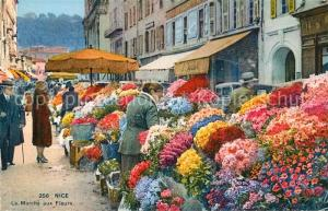 AK / Ansichtskarte Nice_Alpes_Maritimes Marche aux Fleurs Nice_Alpes_Maritimes
