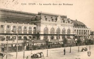 AK / Ansichtskarte Lyon_France La nouvelle Gare des Brotteaux Lyon France