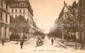 AK / Ansichtskarte Lyon_France Rue Duquesne Lyon France
