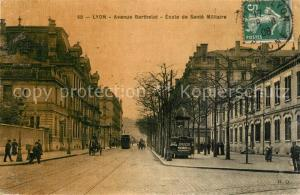 AK / Ansichtskarte Lyon_France Avenue Berthelot Ecole de Sante Militaire Lyon France