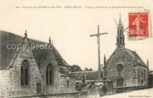 AK / Ansichtskarte Saint Nolff Eglise le Calvaire la Chapelle Sainte Anne Saint Nolff