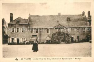 AK / Ansichtskarte Vannes Ancien Hotel de Ville actuellement Conservatoire de Musique Vannes