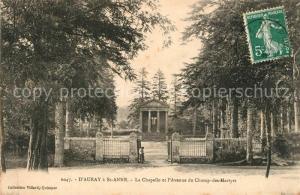 AK / Ansichtskarte Auray a St Anne La Chapelle et l'Avenue du Champ des Martyrs Auray