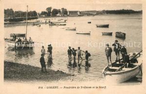 AK / Ansichtskarte Lorient_Morbihan_Bretagne Poudriere de Trefaven et le Scorff Lorient_Morbihan_Bretagne