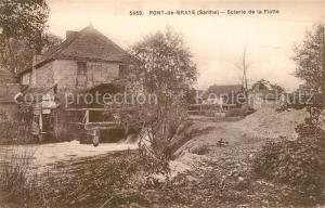 AK / Ansichtskarte Chastanier Pont de Braye Scierie de la Flotte Chastanier