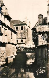 AK / Ansichtskarte Quimper La Tourette du Pont du Steir Quimper