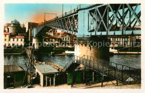 AK / Ansichtskarte Brest_Finistere Le Pont National Brest_Finistere