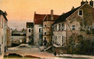 AK / Ansichtskarte Montereau_Loiret La Cour du Vieux Chateau Montereau Loiret