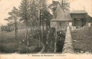 AK / Ansichtskarte Montmort Chateau de Montmort Le Pont levis Montmort