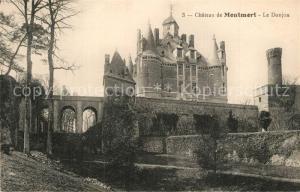 AK / Ansichtskarte Montmort Chateau de Montmort Le Donjon Montmort