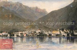 AK / Ansichtskarte Saint Gingolph_Haute_Savoie Vue generale Saint Gingolph_Haute