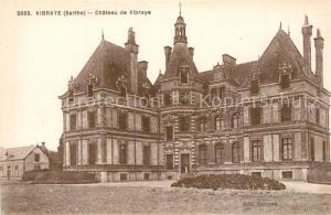 AK / Ansichtskarte Vibraye Chateau de Vibraye Vibraye