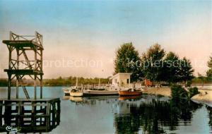 AK / Ansichtskarte Parentis en Born Bords du Lac Parentis en Born