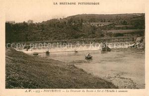 AK / Ansichtskarte Pontrieux Le Deversoir du Bassin a flot et l'Echelle a saumons Pontrieux
