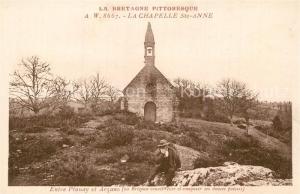 AK / Ansichtskarte Plouay Chapelle Sainte Anne Entre Plouay et Arzano Plouay