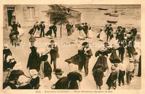 AK / Ansichtskarte Auray Noce Bretonne dansant le Bal Auray