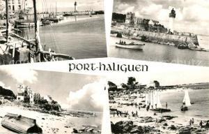 AK / Ansichtskarte Quiberon_Morbihan Port Haliguen abrite des vents est la refuge des bateaux par gros temps Quiberon Morbihan