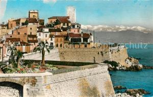 AK / Ansichtskarte Antibes_Alpes_Maritimes Les Remparts construits par Vauban Antibes_Alpes_Maritimes