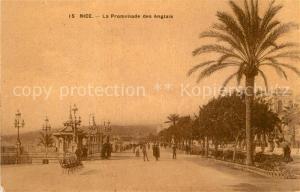 AK / Ansichtskarte Nice_Alpes_Maritimes La Promenade des Anglais Nice_Alpes_Maritimes