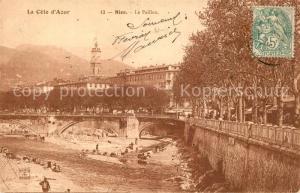 AK / Ansichtskarte Nice_Alpes_Maritimes Le Paillon Nice_Alpes_Maritimes