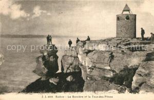 AK / Ansichtskarte Saleve La Sorciere et la Tour des Pitons Saleve