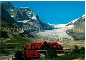 AK / Ansichtskarte Athabaska Gletscher Columbia Icefield Chalet Athabaska
